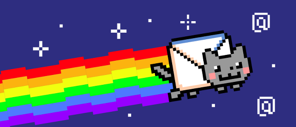 nyan mail cat
