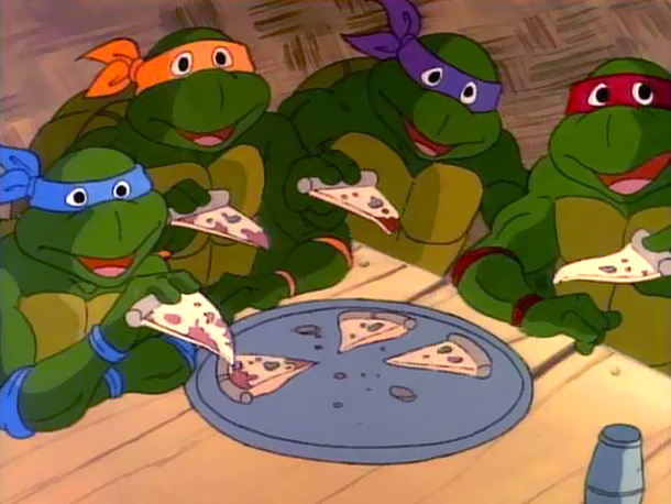 We all know that even ninja turtle super-heroes need moneys to buy pizza.